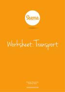 Transport List Writing Worksheet