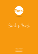 Maths Border Template