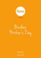 Mother's Day Border Template