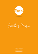 Music Border Template