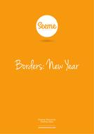 new year border worksheet a4pdf