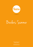 Summer Border Template
