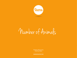 Animal Counting Powerpoint