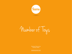 Toys Counting Powerpoint