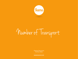 Transport Counting Powerpoint