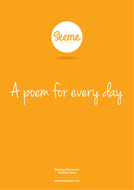 A Poem for Every Day of the Week