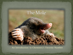 Introducing: The Mole