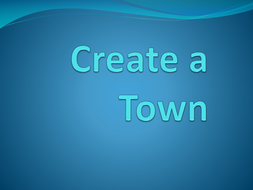 Create-A-Town: Independent Practice Map skills