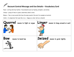 Center Poetry Recount Message and Find Details.docx