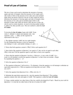 05a) Proof of Law of Cosines Word.docx