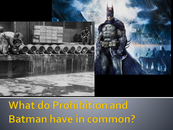 Prohibition Intentions & Consequences