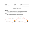 Serial and Parallel Circuits .doc
