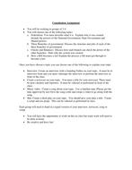 Creative Civics Assignment