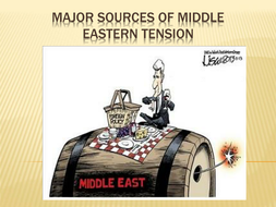 Major Sources of Middle East Tension