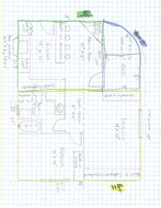 Living Spaces Sample Project blueprint and area only.pdf