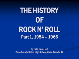 The History of Rock n Roll I