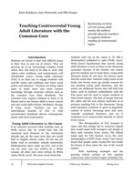 Teaching Controversial Young Adult Literature with the Common Core.pdf
