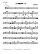 Hank Fellows - Music Lead Sheet and Lyrics - LAY ME DOWN.pdf