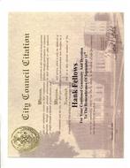 HANK FELLOWS - CITATION FROM NEW YORK CITY COUNCIL - SEPTEMBER 2006.pdf