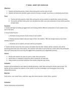 Money Unit Lesson Plan - 1st Grade