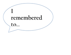 Prompts for self-reflection for math review