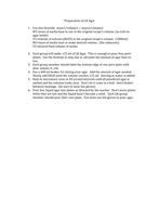 How to prepare agar solution