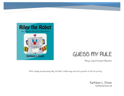 Guess My Rule: Riley's Input/Output Machine