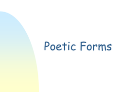 PoeticForms.ppt