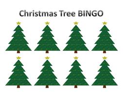 Christmas Letter Identification BINGO