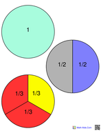 fractions template.pdf