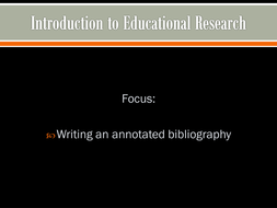Considering Research in your field of work