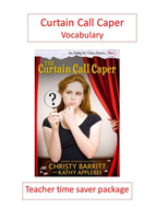 Curtain Call Caper Vocabulary.pptx