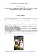 Figurative language writing prompts blue chapters 1 2 3 4.pdf