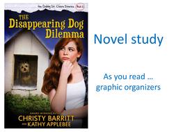 Disappearing Dog Dilemma novel study