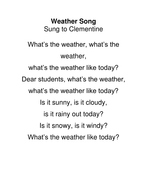Weather Song.docx