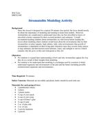 Exploring Stromatolites through Modeling