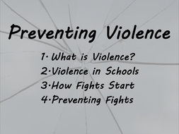 Violence in the community and school violence