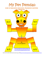 order of operations my pet pemdas lesson activity mobile by