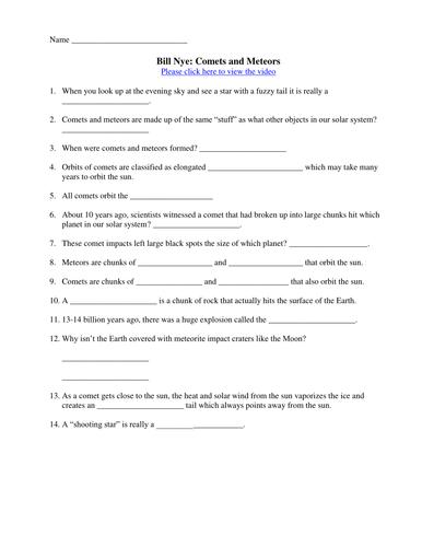 Bill Nye Matter Worksheet Worksheets Tataiza Free Printable