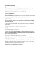 IGCSE exam Revision sheet