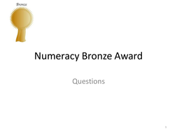 Numeracy-Bronze-Award-Questions.pptx