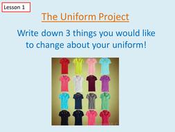 Design a Uniform Project - fun  +  -  x  ÷ practice