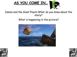 James and the Giant Peach- Roahl Dahl