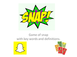 Snap - Matters of life