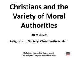 Christians and Moral Authority