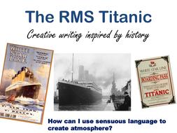 Titanic non-fiction SOW