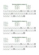 Converting Fractions & Decimals animal code sheets
