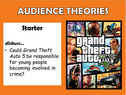A Level Media Studies: Audience Theory