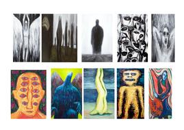 Kazuya Akimoto Figures Drawing/Painting