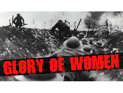 The Glory of Women by Siegfried Sassoon